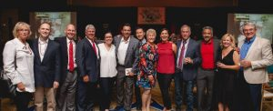 board of directors at red shoe gala